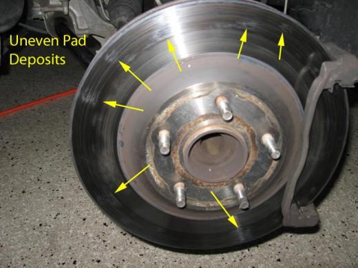 Signs Of Warn And Warped Rotors